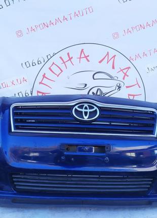 Бампер передний решетка радиатора Toyota Avensis (T25) 2003-20...