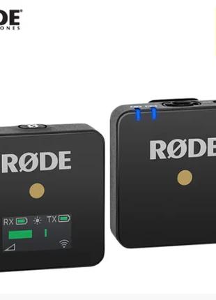 Компактная беспроводная микрофонная Rode Wireless GO