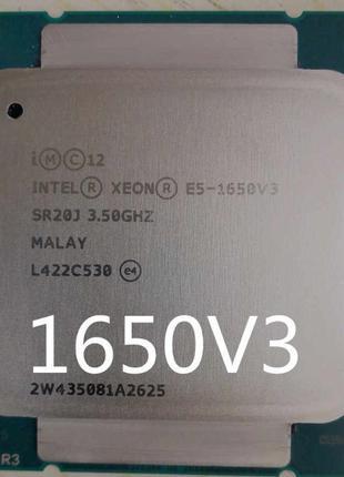CPU Intel Xeon E5 1650 v3 3.5-3.8 6-ядер(12 потоков) LGA 2011 V3