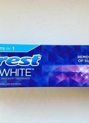 Американская лечебная зубная паста Crest Radiant Mint с бережным