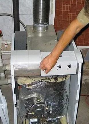Чистка газовых котлов, конвектор