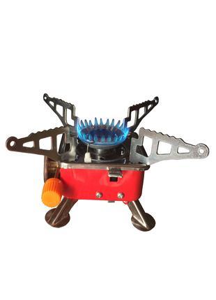 Газовая горелка (плита) портативная туристическая с пьезоподжигом