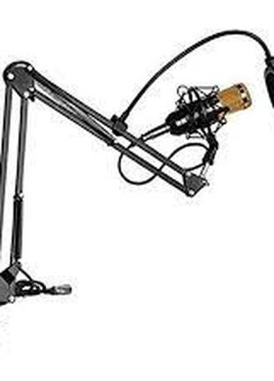 Микрофон студийный m800u 3.5мм стойка конденсаторный ветрозащита!