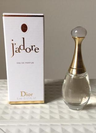 Парфюмированная вода для женщин christian dior jadore жадор 5 ...