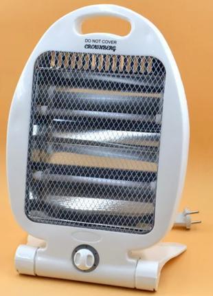 Кварцевый обогреватель Heater CB 7745 Crownberg Quartz 800Вт