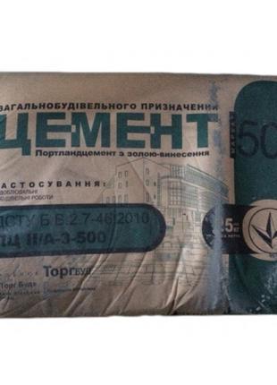 Цемент М500 25 кг Полимин