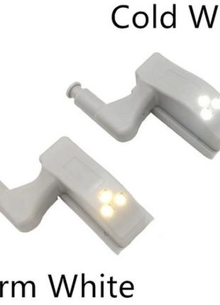 Светодиодный светильник фонарик в шкаф теплыйхолодный свет
