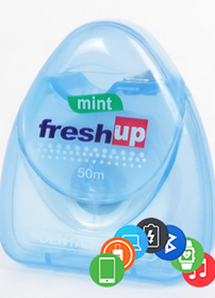 Зубная нить Fresh Up нитка 50 м