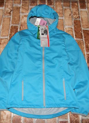 Новая куртка ветровка девочке софтшелл 11 - 12 лет crane softshel