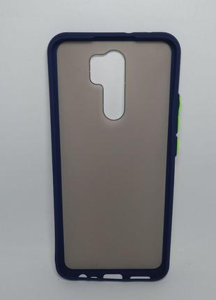 Задня накладка Xiaomi Redmi 9 Shadow Matte 2in1 Case Blue