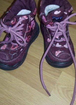 Сапоги сапожки ботинки зимние на девочку 20р.