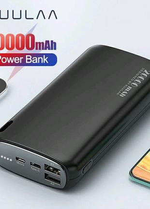 KUULAA внешний аккумулятор ( Power Bank)20000 мАч.