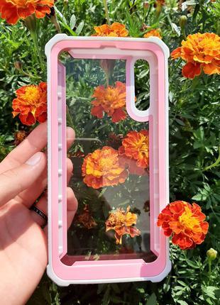 Броньований чехол + захисне скло для телефона Samsung Galaxy A50