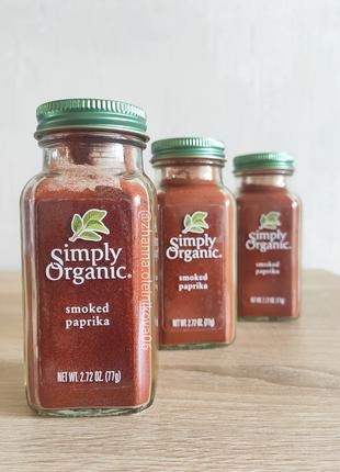 Simply Organic, Органическая копченая паприка, 77 гр