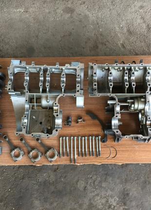 Запчасти двигатель мотор zzr600 зизер Kawasaki,за все zx6,ninja