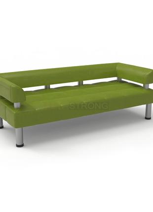 Офисный диван Стронг - оливковый цвет матовый