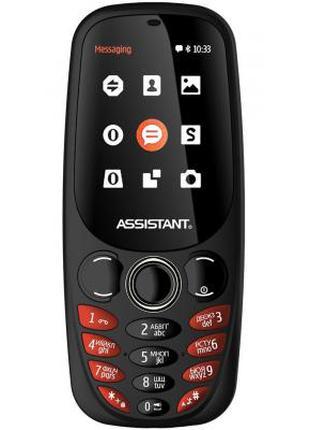Мобильный телефон Assistant AS-201 Black (873293011790)