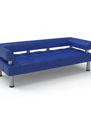 Офисный диван Стронг - синий цвет