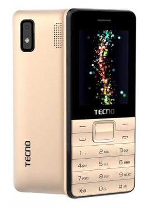 Мобильный телефон TECNO T372 TripleSIM Champagne Gold