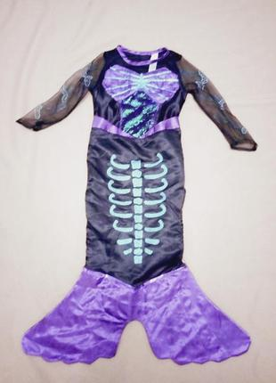Карнавальный костюм русалка на хэллоуин
