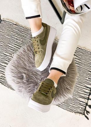 Nike Air Force Green Sage