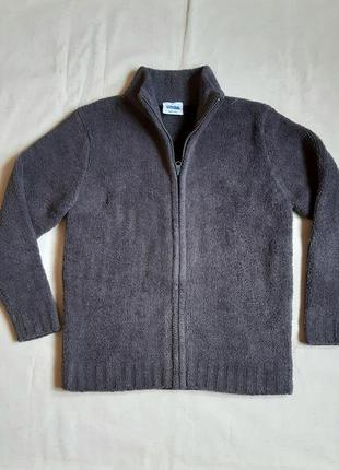 """Серая теплая толстая флисовая кофта куртка """"yigga"""" германия на..."""