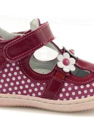 Туфли renbut для маленькой модницы. размеры 20-25