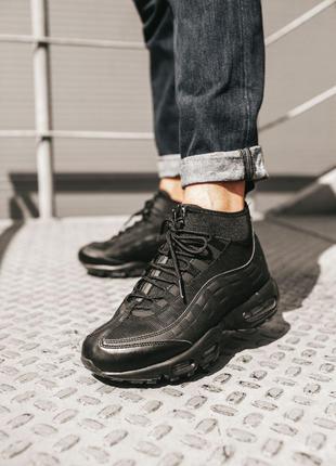 Кроссовки Nike Air Max 95 SneakerBoot Black