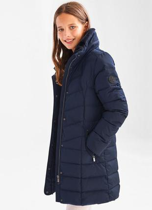 Удлиненная куртка пуховик c&a blue