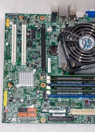 Комплект LGA 1156 Lenovo IQ57M + Intel Core i5-650 + 8Gb DDR3