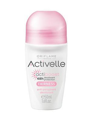 Шариковый дезодорант-антиперспирант c осветляющим эффектом act...