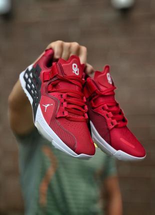 Отличные мужские кроссовки jordan alpha 360 красные