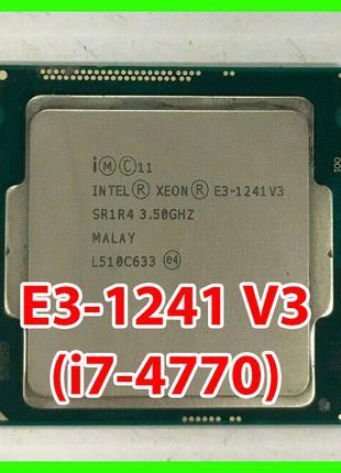 Процессор Intel Xeon E3-1241 V3 (i7-4770) LGA1150 (SR1R4) 4 ядра