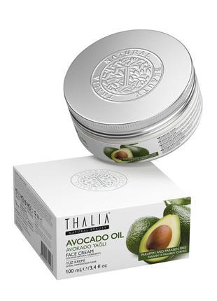 Крем для лица Thalia с маслом авокадо, 100 мл