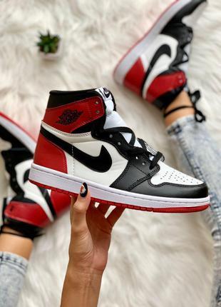 Кроссовки Nike Air Jordan 1 Retro Red Black