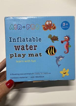 Детский развивающий коврик игровой с водой
