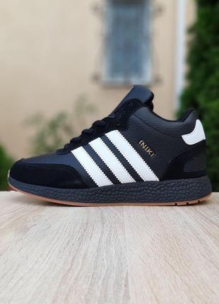 Зимние Мужские Кроссовки Ботинки Adidas Iniki (41-46)