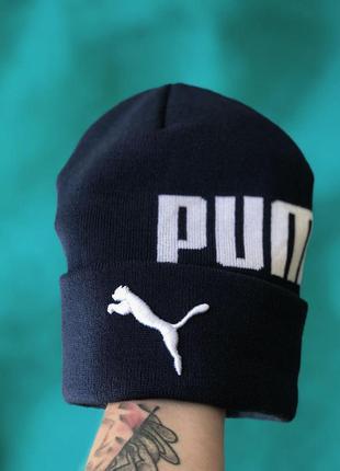 Мужская/ женская шапка осень puma, пума