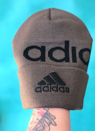 Мужская/ женская шапка осень adidas
