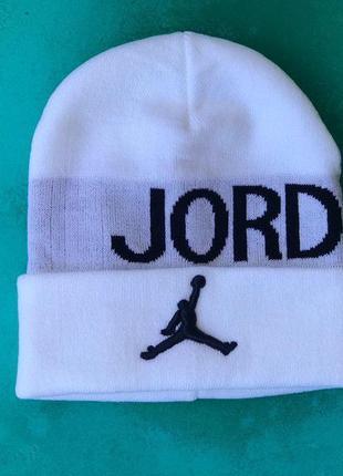 Мужская/ женская шапка осень jordan
