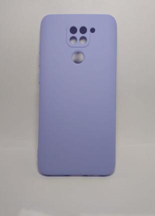 Задня накладка Xiaomi Redmi Note 9 Full Soft Case Violet