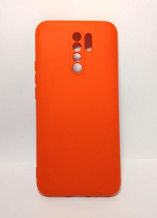 Задня накладка Xiaomi Redmi 9 Full Soft Case Red