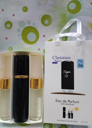 N56 christian xs black p.rabanne for men 3×12ml парфюмированна...