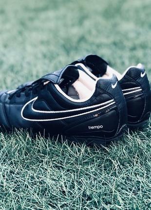 Бутсы Nike Tiempo FG 38,5p. Бутси Найк. Бутци Не Adidas
