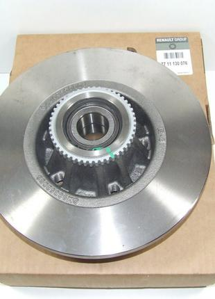 Диск тормозной задний с подшипником Renault Trafic  01- 77 11 130