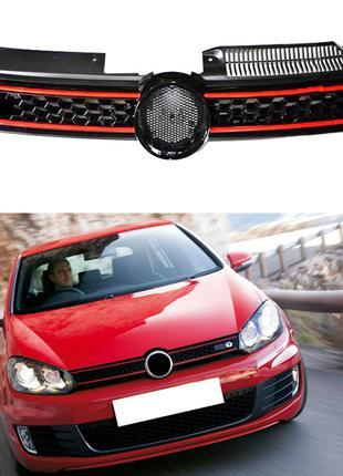 Решетка радиатора Volkswagen Golf 6 тюнинг стиль GTI