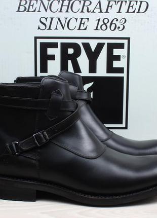 Кожаные мужские ботинки челси frye, размер 44 - 44.5 (stone cr...