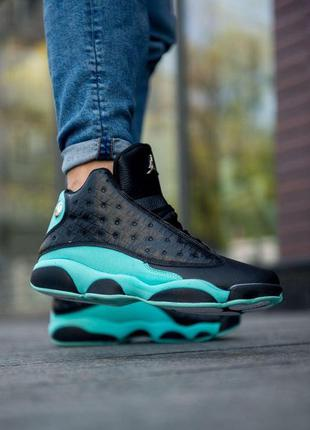 Nike air jordan 13 retro 'island green'