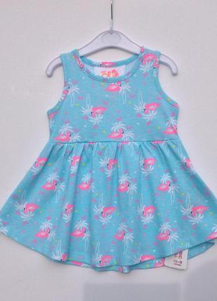 "Платье с принтом ""фламинго"" primark"