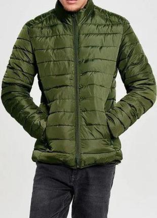 Демисезонная курточка пуховик zara
